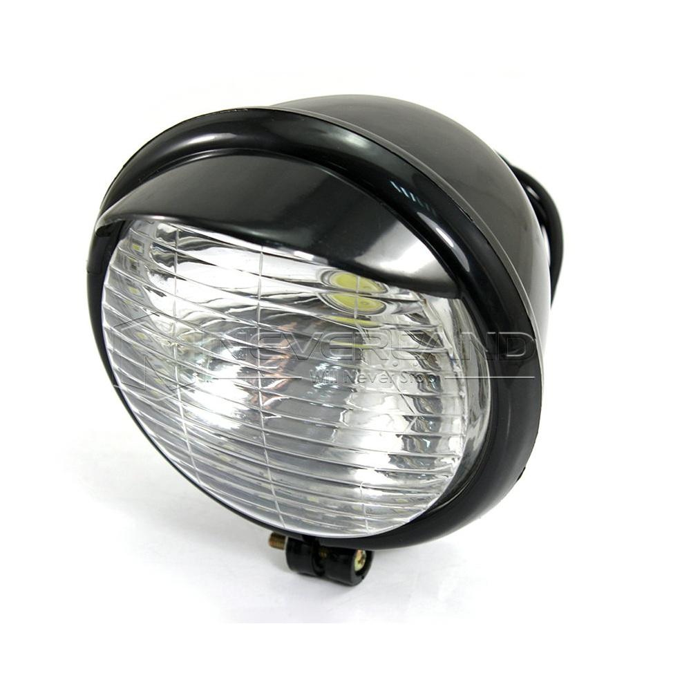 paar 5 motorrad led nebelscheinwerfer scheinwerfer lampen f r harley schwarz. Black Bedroom Furniture Sets. Home Design Ideas