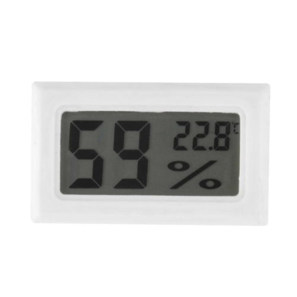 new digital lcd thermometer hygrometer humidity indoor. Black Bedroom Furniture Sets. Home Design Ideas