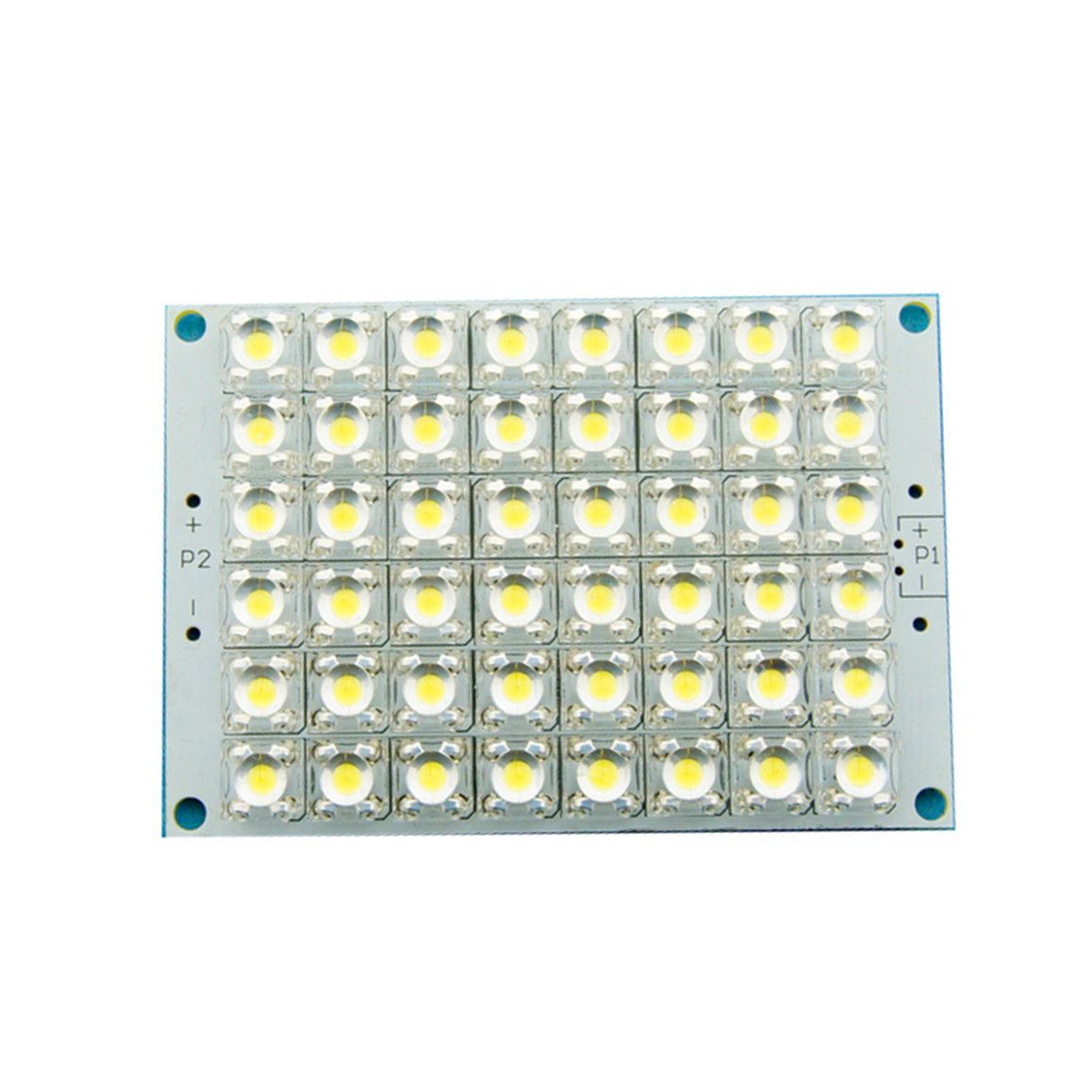 super bright 12v white light 48 led piranha led panel board lamp lighting f car ebay. Black Bedroom Furniture Sets. Home Design Ideas