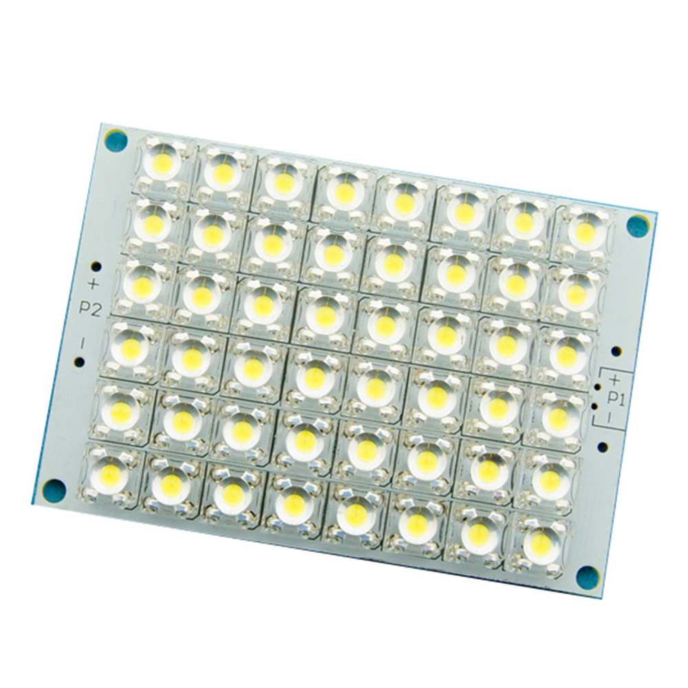 super bright dc 12v white light 48 led piranha led panel. Black Bedroom Furniture Sets. Home Design Ideas