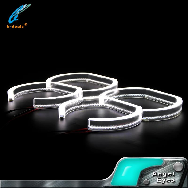 12V SMD 3528 For BMW F30 LED Angel Eye Auto Spare Parts Crystal Devil Halo  Ring