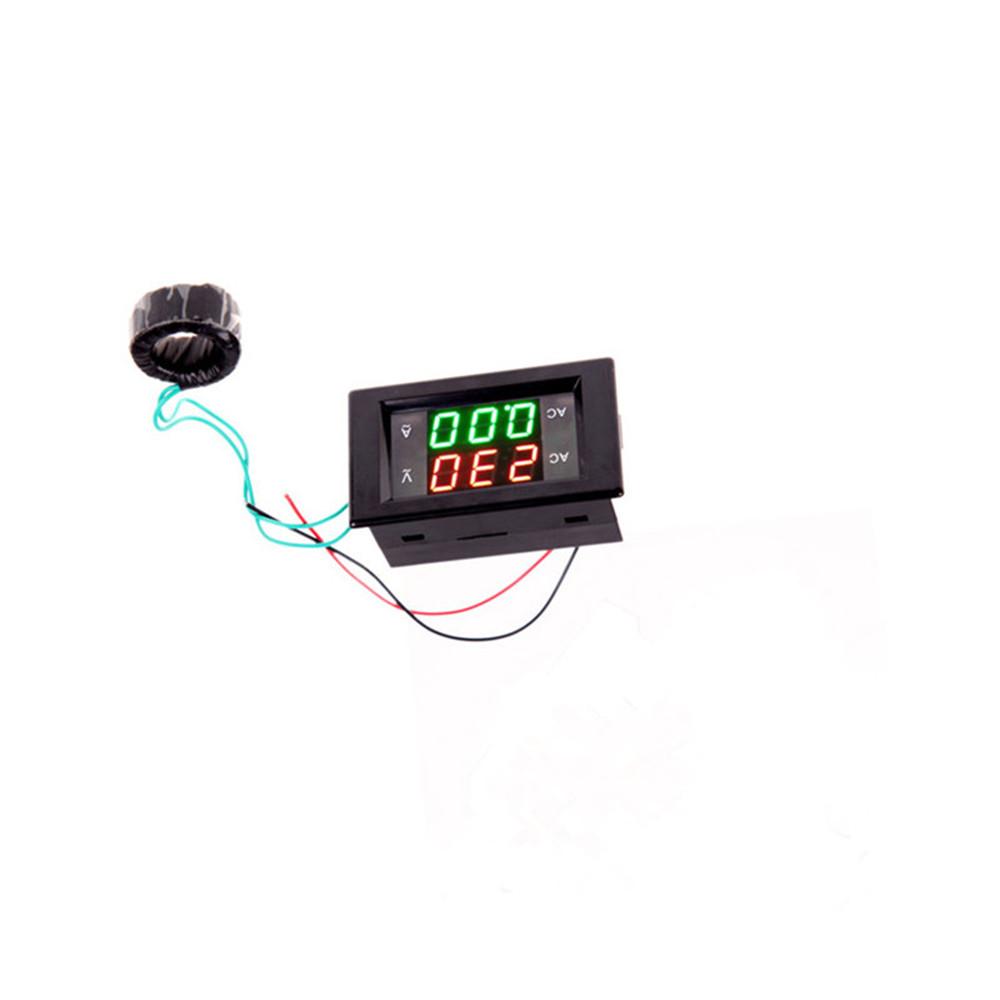 Digital Ampere Meter : Digital lcd volt ampere amp meter voltmeter dual panel