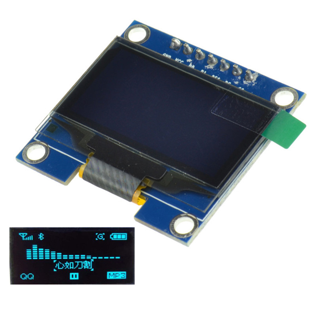 Quot blue spi serial oled lcd display screen module
