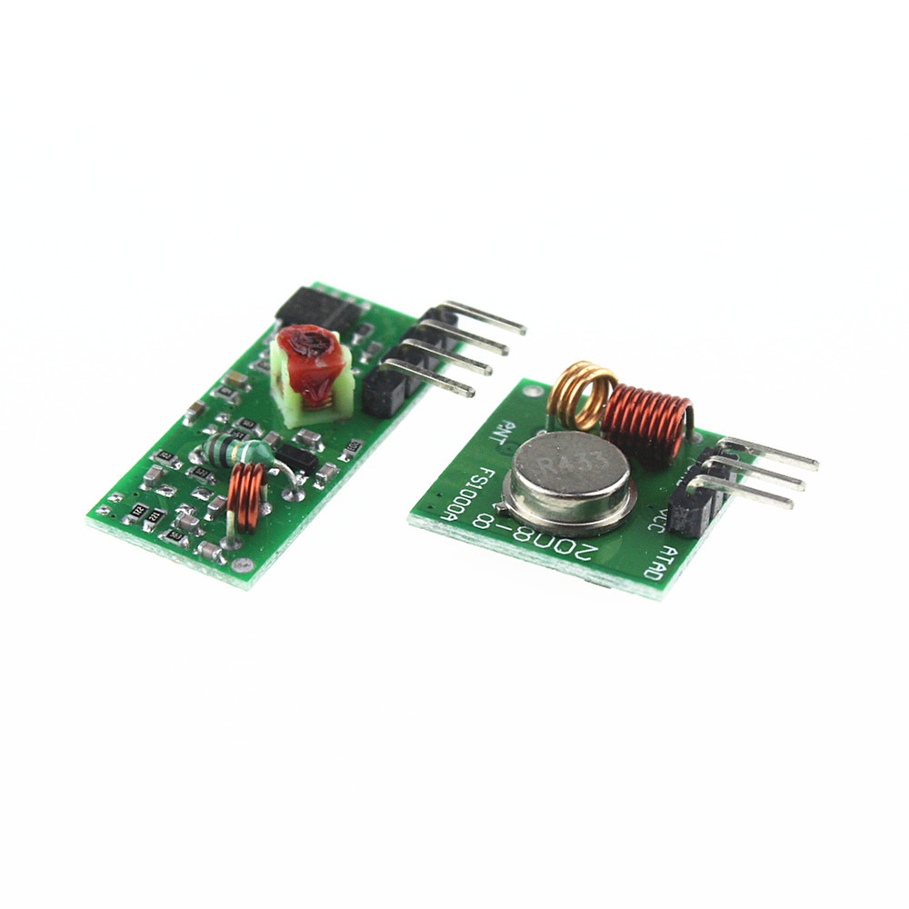315Mhz RF Transmitter and Receiver - Arduino Boards