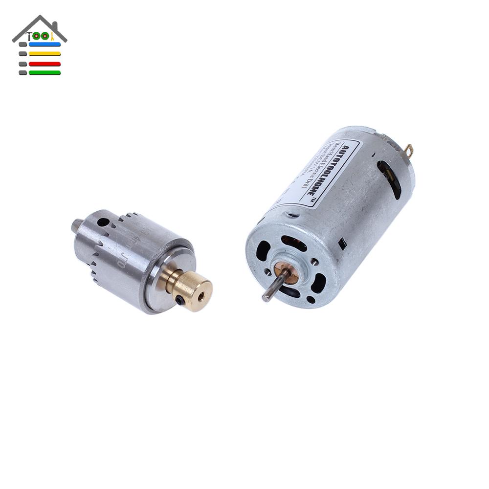 Electric Hand Drill Set Dc12v Motor Twist Drill Bits Set 0