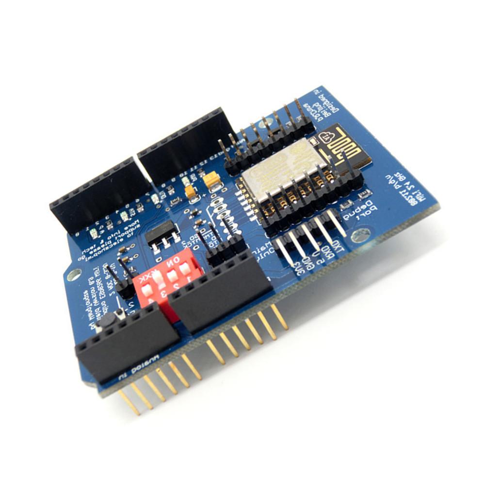 Esp e uart wireless wifi shield ttl converter