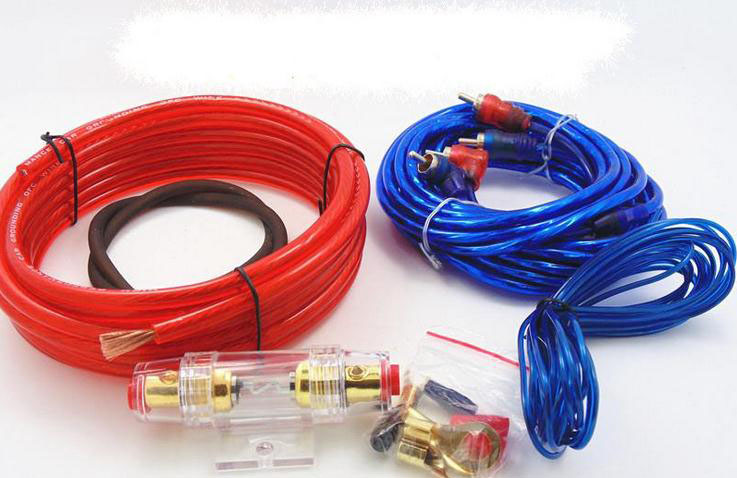Subwoofer Amplifier Amp Wiring Fuse Holder Wire Cable Kit G8 Ebay
