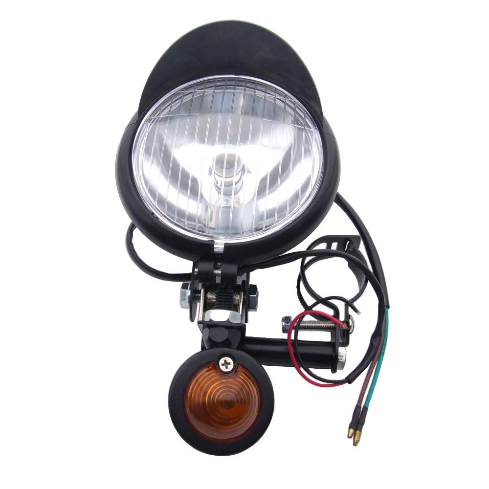 2x scheinwerfer nebelscheinwerfer mit blinker universal. Black Bedroom Furniture Sets. Home Design Ideas