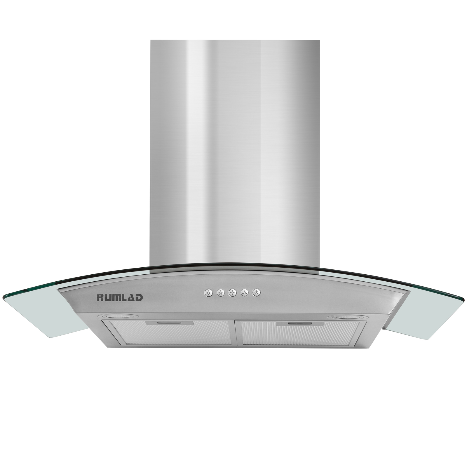 30 stainless steel wall mount range hood stove vent fan w led control kitchen 699944647121 ebay. Black Bedroom Furniture Sets. Home Design Ideas