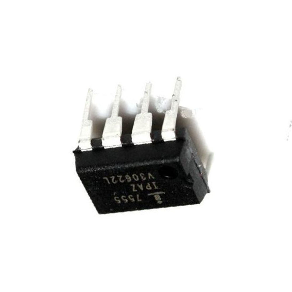 10PCS ICM7555IPA DIP8 IC OSC MONO TIMING 1MHZ IC M