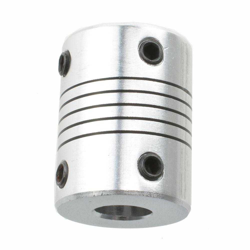 D19l25 8 10mm flexible shaft coupling cnc stepper motor for Stepper motor shaft coupling coupler