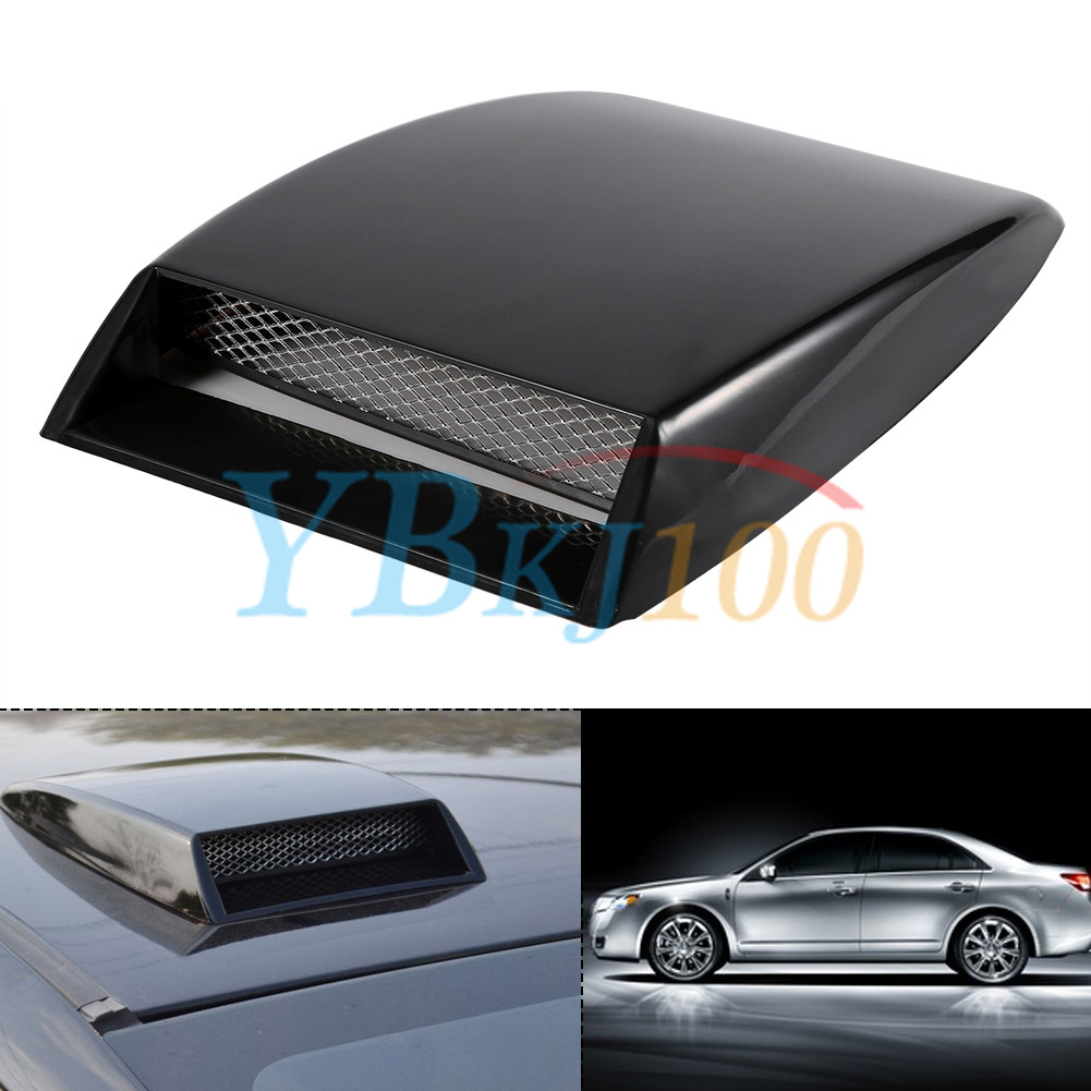 Air Scoops For Cars : Cool universal car decorative air flow intake scoop bonnet