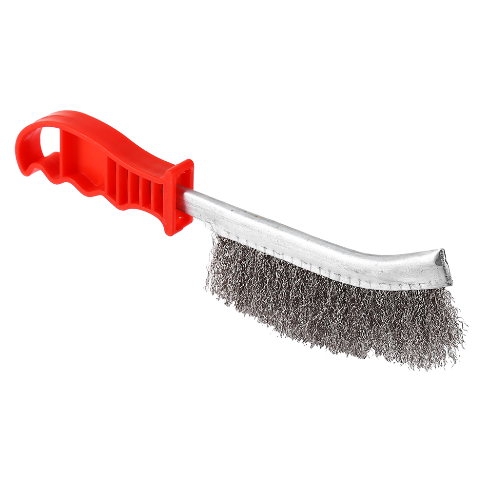 heavy duty wire hand brush stainless steel bristles rust paint removal diy tool ebay. Black Bedroom Furniture Sets. Home Design Ideas