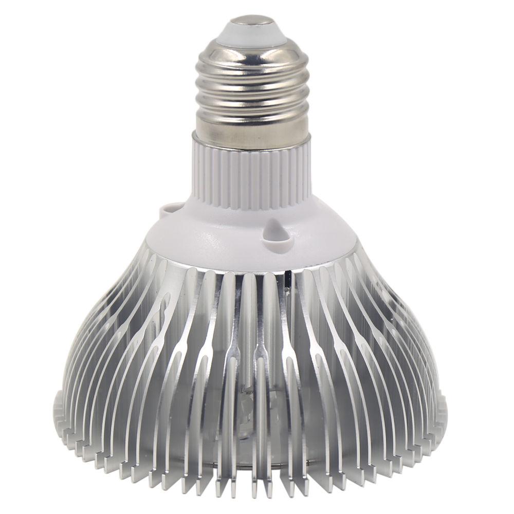 wachstumslampe pflanzenleuchte e27 grow wachsen wuchs 12 led 24w pflanzen licht. Black Bedroom Furniture Sets. Home Design Ideas