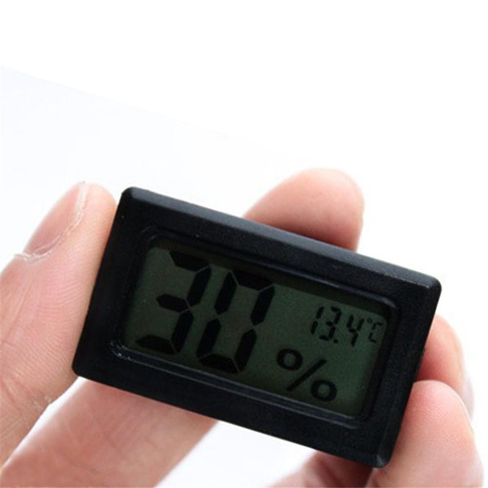 digital lcd thermometer hygrometer humidity indoor. Black Bedroom Furniture Sets. Home Design Ideas
