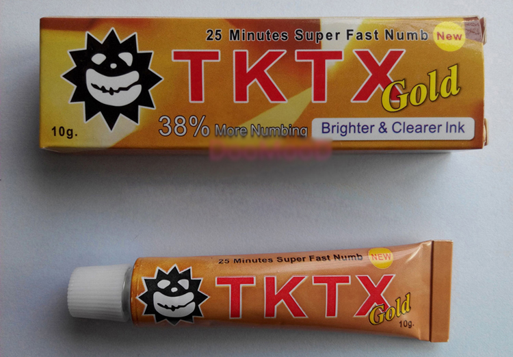 Tktx 35 more numbing cream piercing permanent eyebrow for Does numbing cream work for tattoos