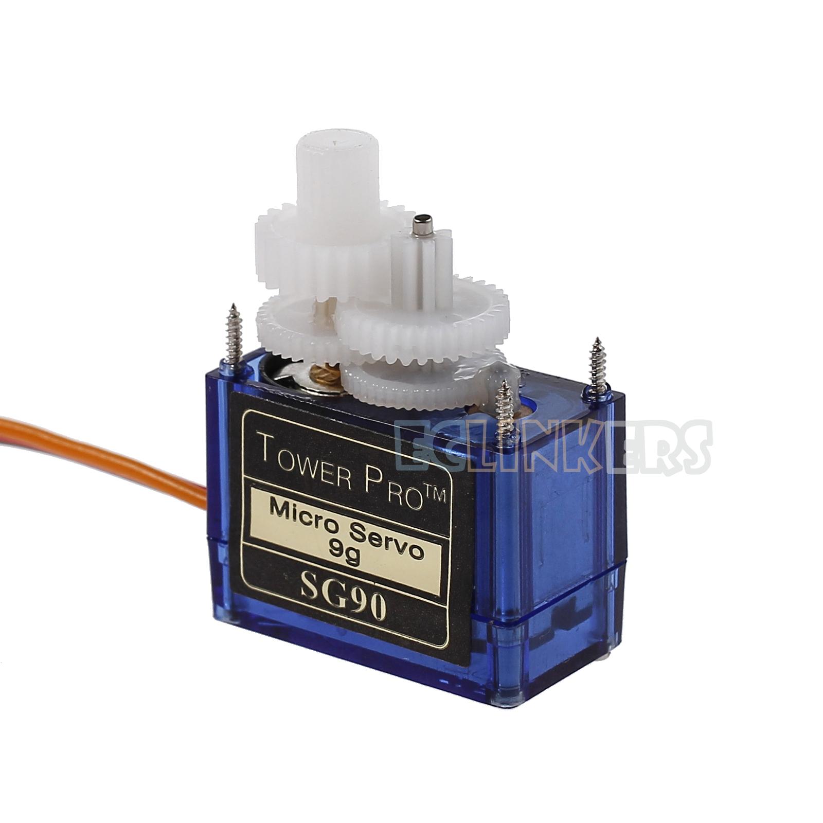 10pcs Sg90 9g Micro Servo Motor Remote Control Rc Robot