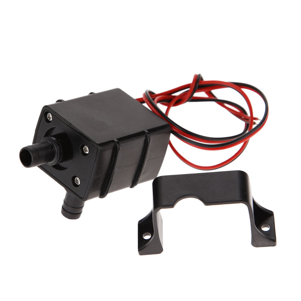 Dc12v 3m 240l h ultra quiet brushless motor submersible for Waterproof submersible electric motors