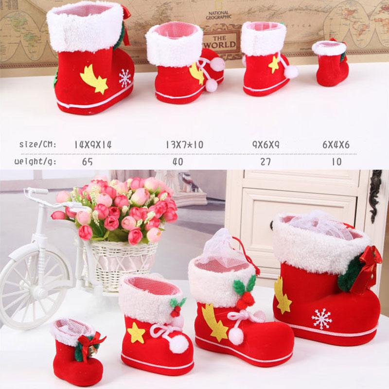 Nikolausstiefel zum bef llen weihnachtsstiefel dekoration for Dekoration geschenke