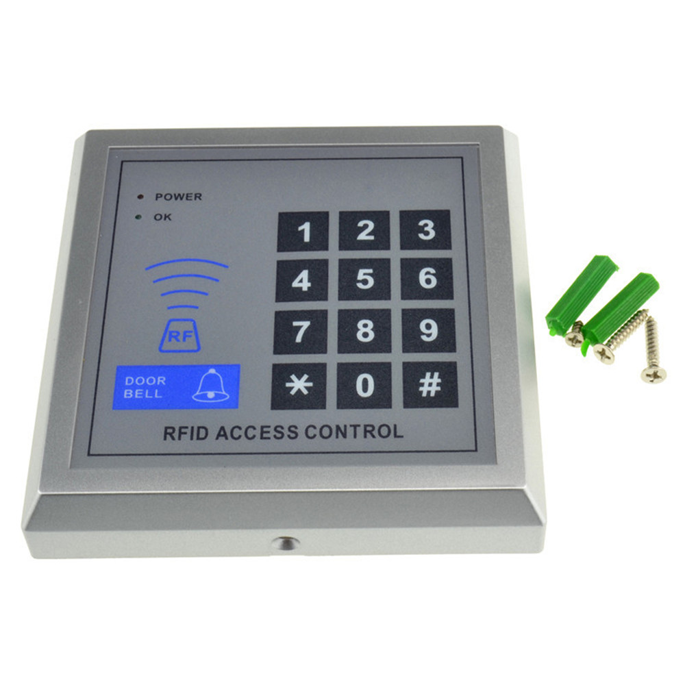 Locked Key Access : New rfid proximity entry door lock key pad access control