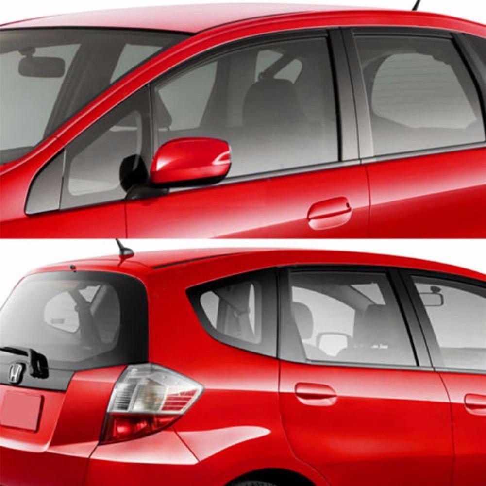 Cool Black Glass Window Tint Shade Film Vlt 25 Auto Car