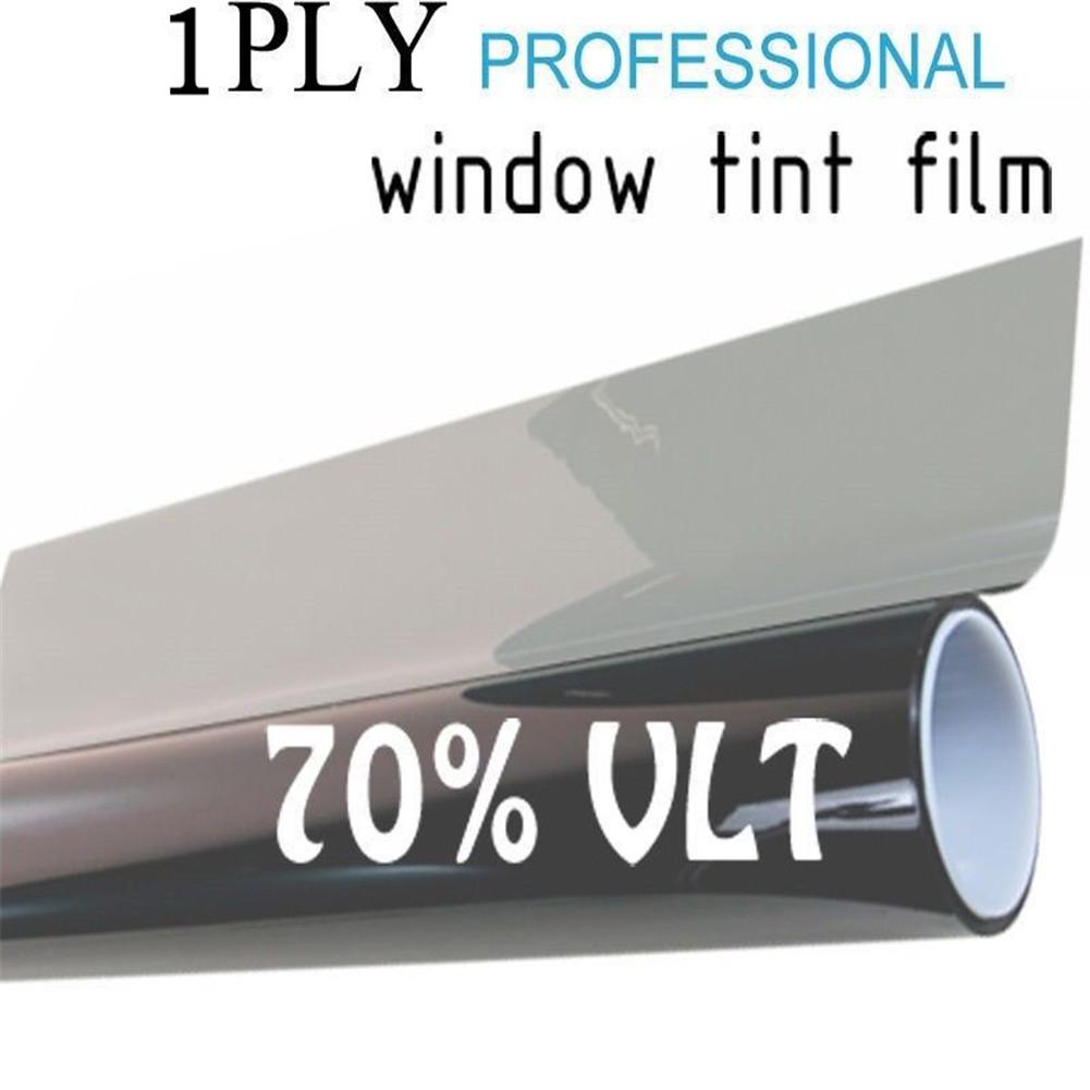 Cool black glass window tint shade film vlt 70 auto car for 16 window tint