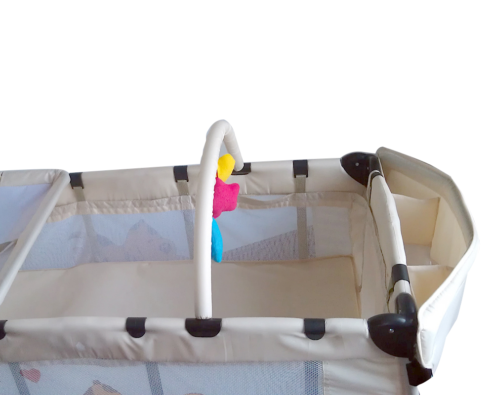 how to clean a travel cot