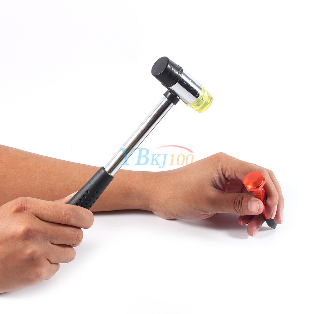 auto pdr repair tools set tap down 9 heads rubber hammer paintless dent tool ebay. Black Bedroom Furniture Sets. Home Design Ideas