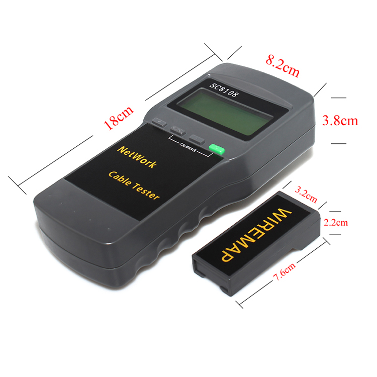 Data Cable Tester : New network lan phone cable tester wire tracker cat e