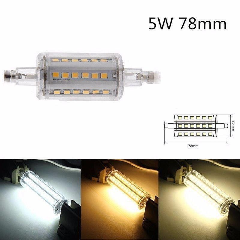 2835 smd led r7s 5 10 12 15w j78 118 189 bulb replace halogen silicone lamp ebay. Black Bedroom Furniture Sets. Home Design Ideas