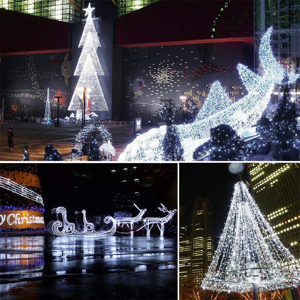 schneeflocke bunt led solar lichterkette weihnachten garten deko beleuchtung 713839425837 ebay. Black Bedroom Furniture Sets. Home Design Ideas
