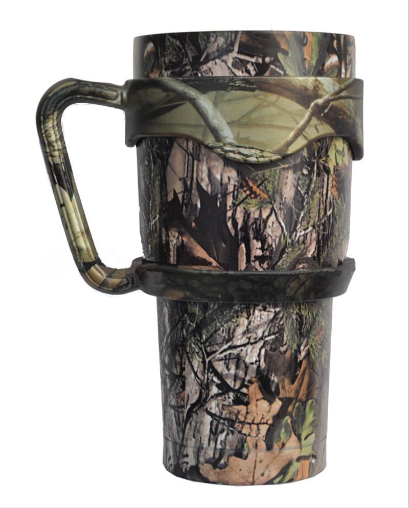 Camouflage Handle Holder For 30oz Yeti Rambler Tumblers