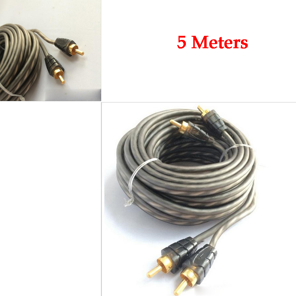 5m Car Copper Audio Subwoofer Amplifier Amp Wiring Fuse Power Install Kit Sub Bullz Epak8r