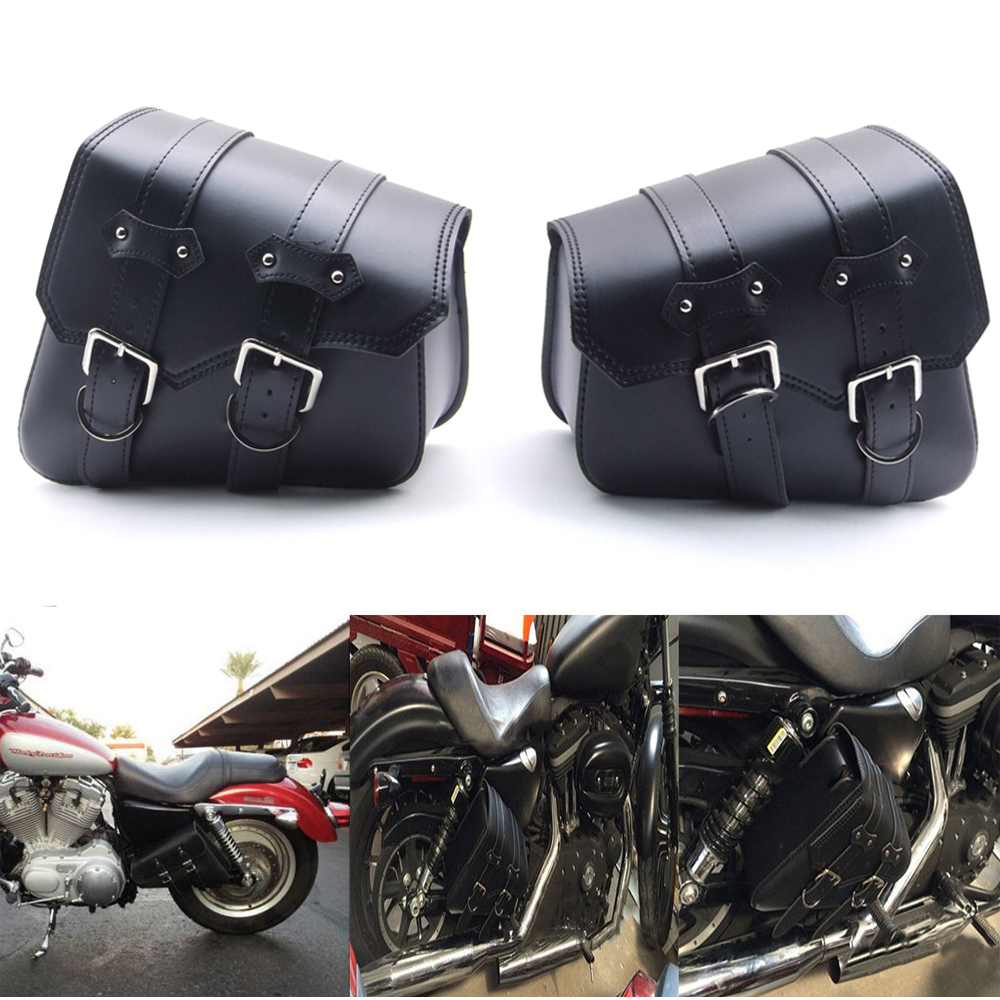 Universal Release Seat Pouch PU Leather Bike Saddle Bag Motorcycle Tool Bag UK