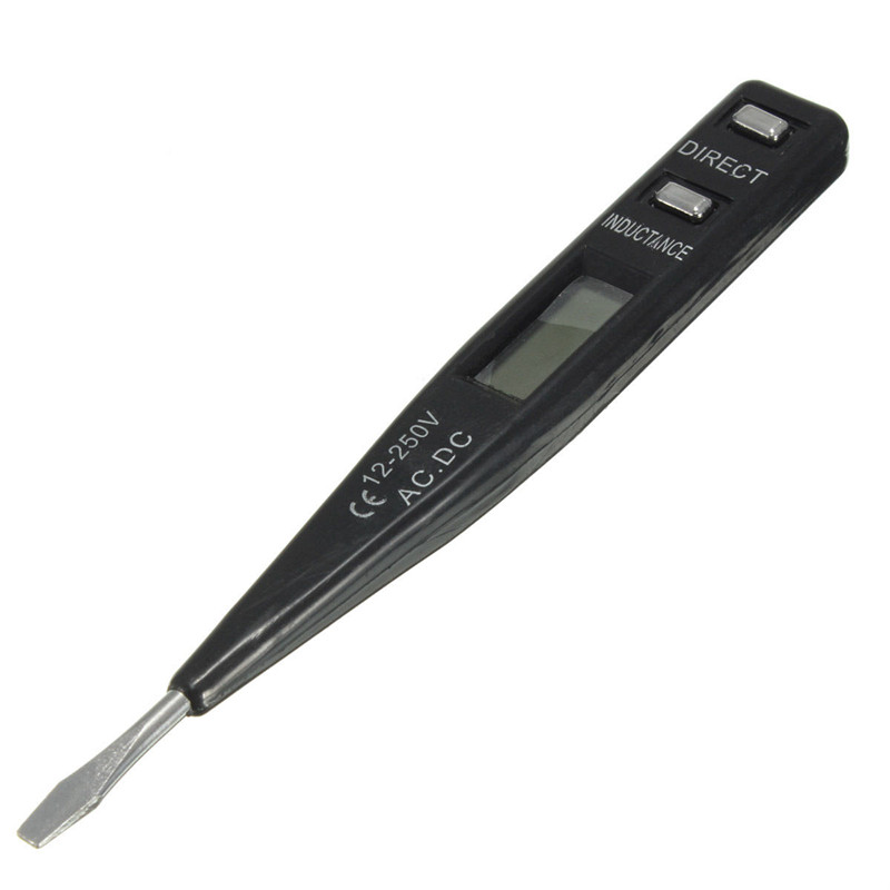 Digital Electrical Tester : V ac dc digital electrical tester pen probe voltage