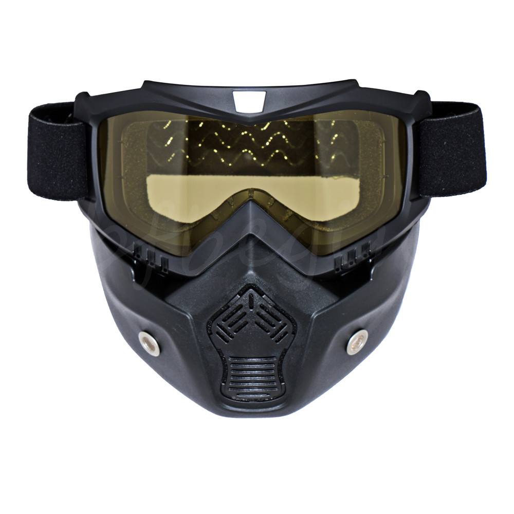 Motorcycle Ride Ski Airsoft Tactical Military Mask Shield