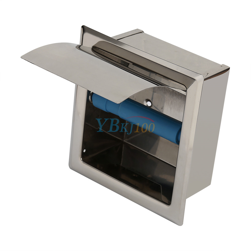 Stainless steel bathroom toilet paper holder roll tissue for Toilet paper roll jewelry box