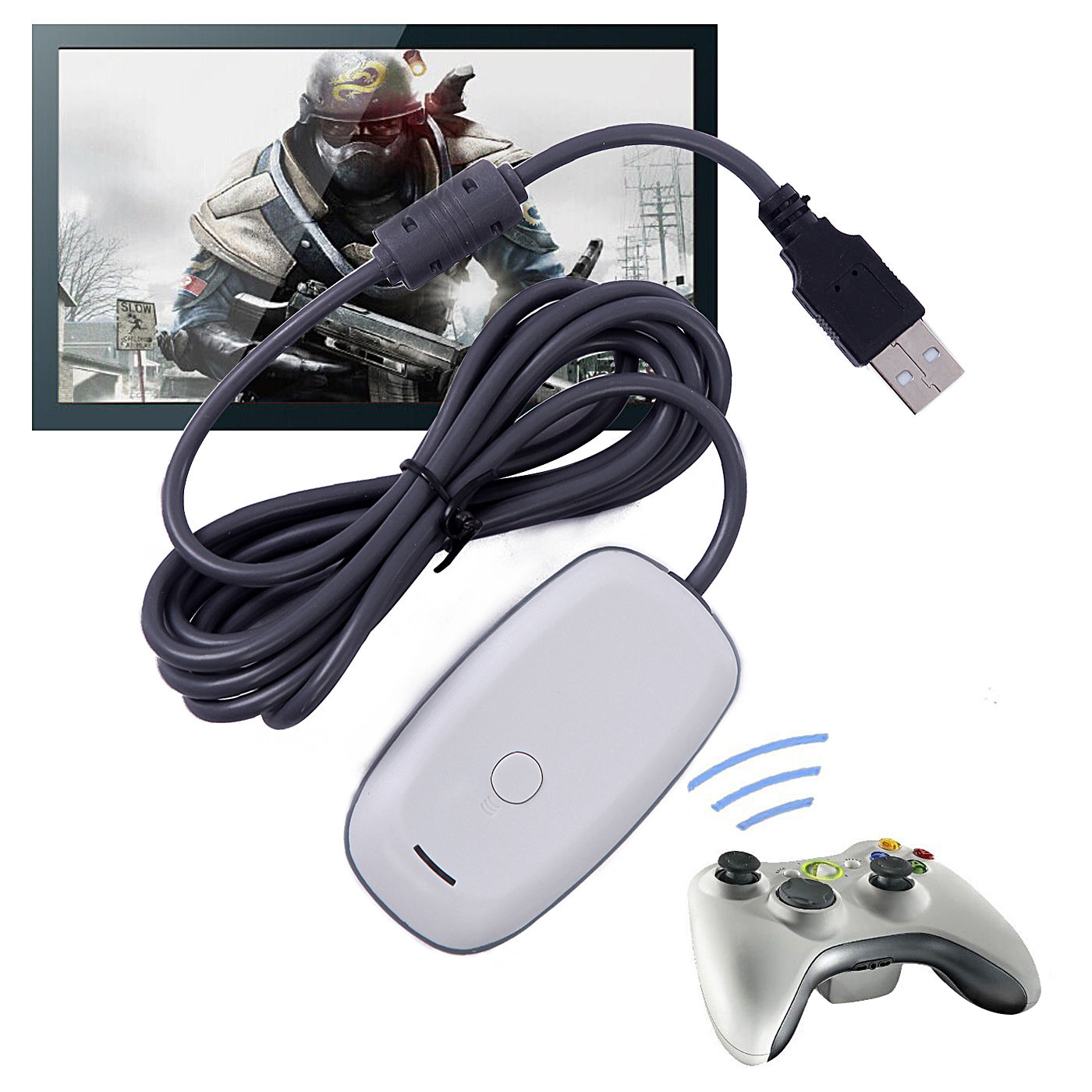 Xbox 360 controller pc adapter