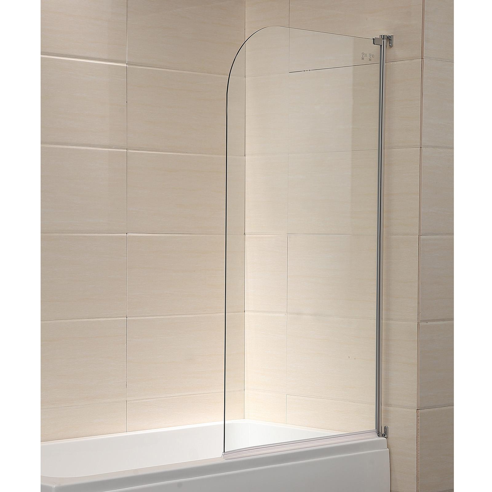 Details About Modern 55 X31 Glass Shower Door 1 4 Clear Glass Pivot Radius Frameless Chrome