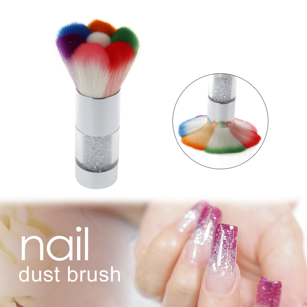 how to clean uv gel nail brushes