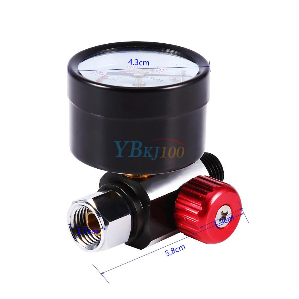 Mini Spray Gun Pressure Regulating Air Regulator Valve