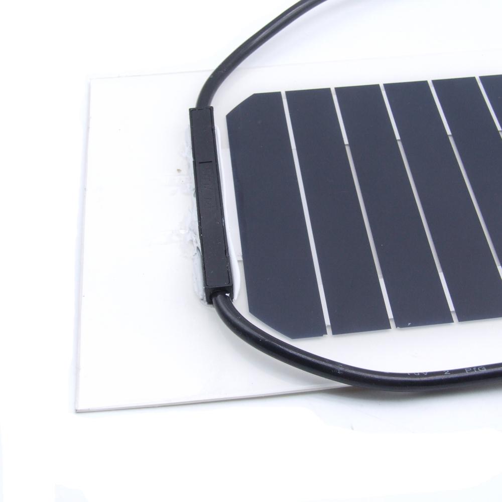 panneau solaire semi flexible mono pour voiture bateau camion 10w 100w 10v 18v ebay. Black Bedroom Furniture Sets. Home Design Ideas