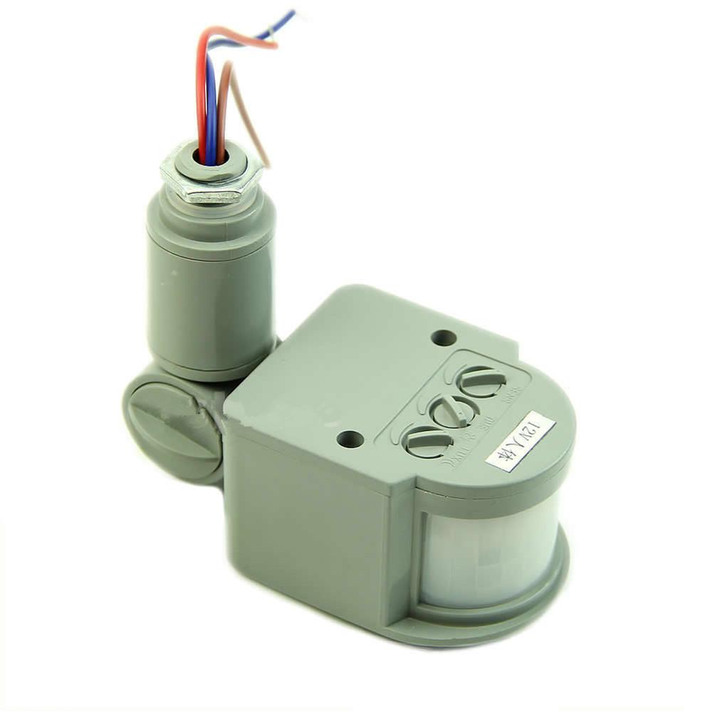 outdoor 12m security infrared pir motion sensor detector. Black Bedroom Furniture Sets. Home Design Ideas