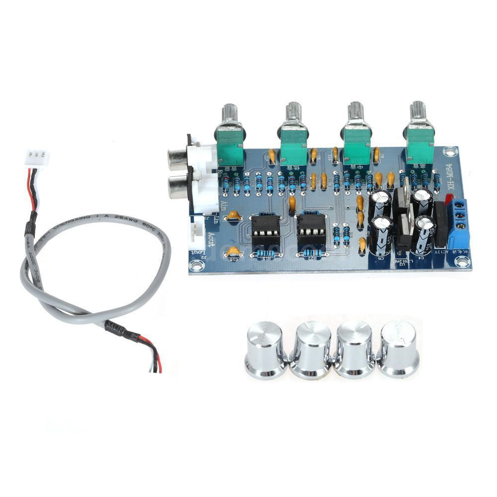 Ne5532 Stereo Subwoofer Preamp Tone Control Diy Amplifier Board Lowpass Filter Frequency Circuit Opamp Chip Module M