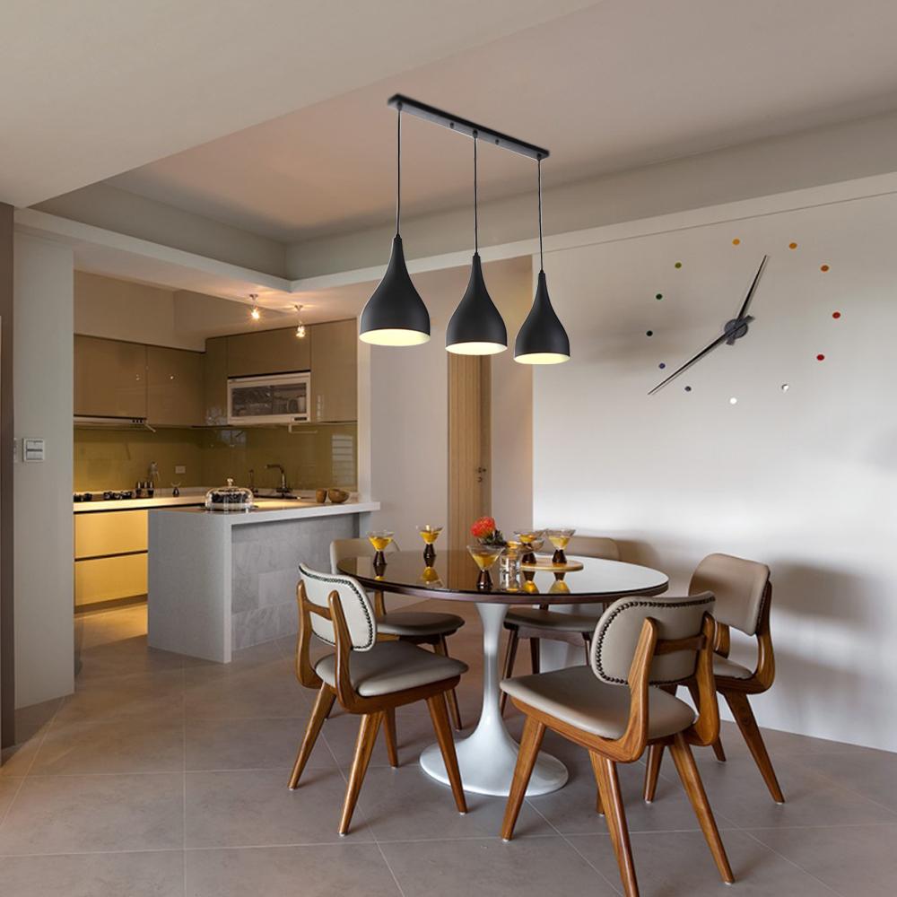 esstisch design e27 kronleuchter h ngelampe pendelleuchte wohnzimmer beleuchtung ebay. Black Bedroom Furniture Sets. Home Design Ideas