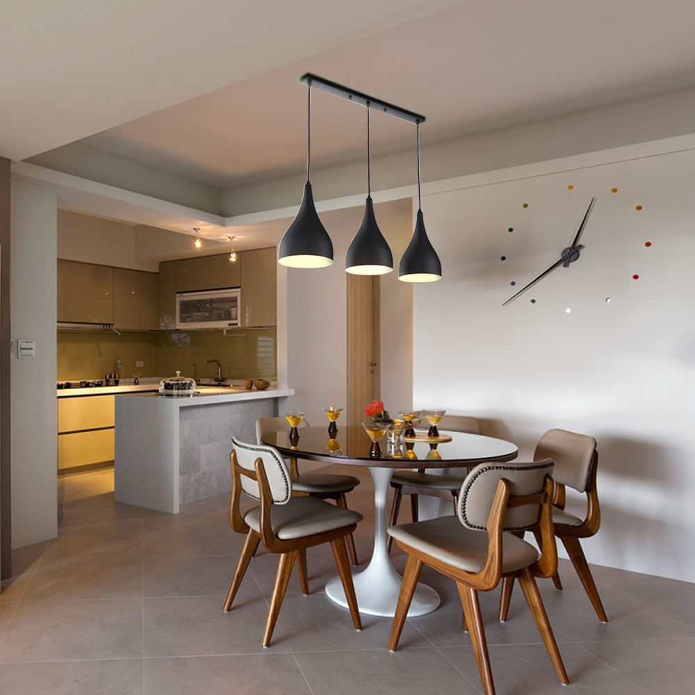 h ngelampe pendelleuchte l ster esszimmer k che design decken h henverstellbar ebay. Black Bedroom Furniture Sets. Home Design Ideas