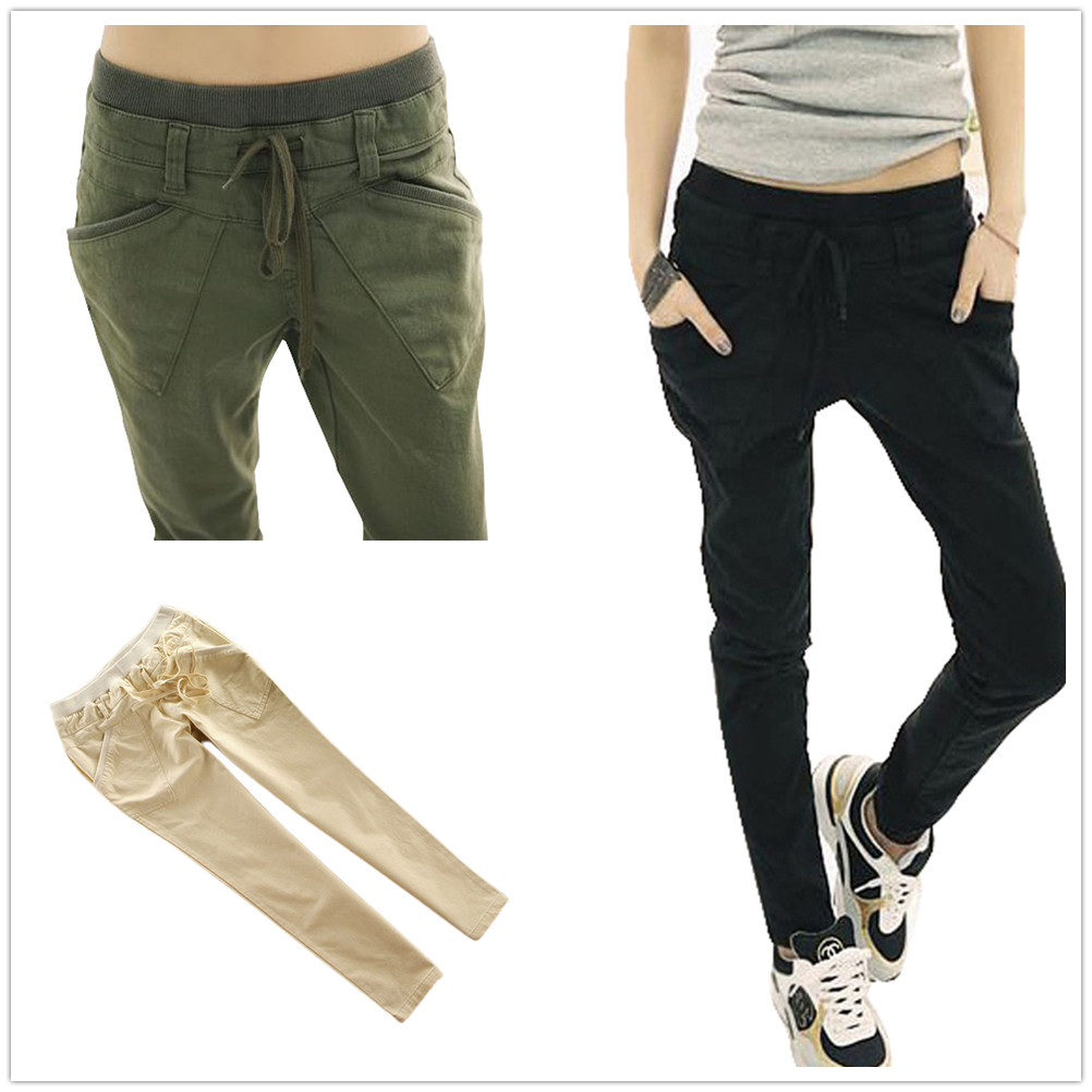 Innovative  About Ladies Harem Pants Womens Soft Elasticated Waist Trousers