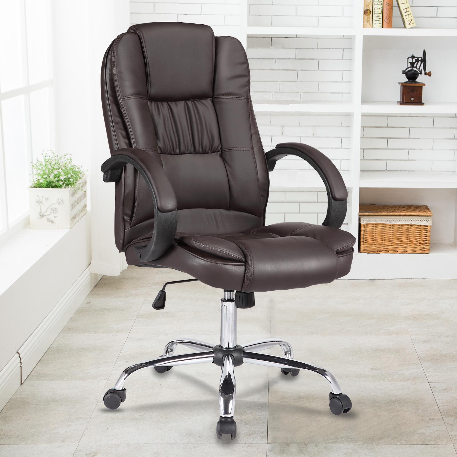 pu chaise fauteuil bureau luxe chaise ergonomique. Black Bedroom Furniture Sets. Home Design Ideas