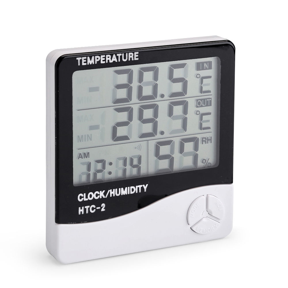 Lcd Outdoor Indoor Htc 2 Htc 1 Thermometer Hygrometer