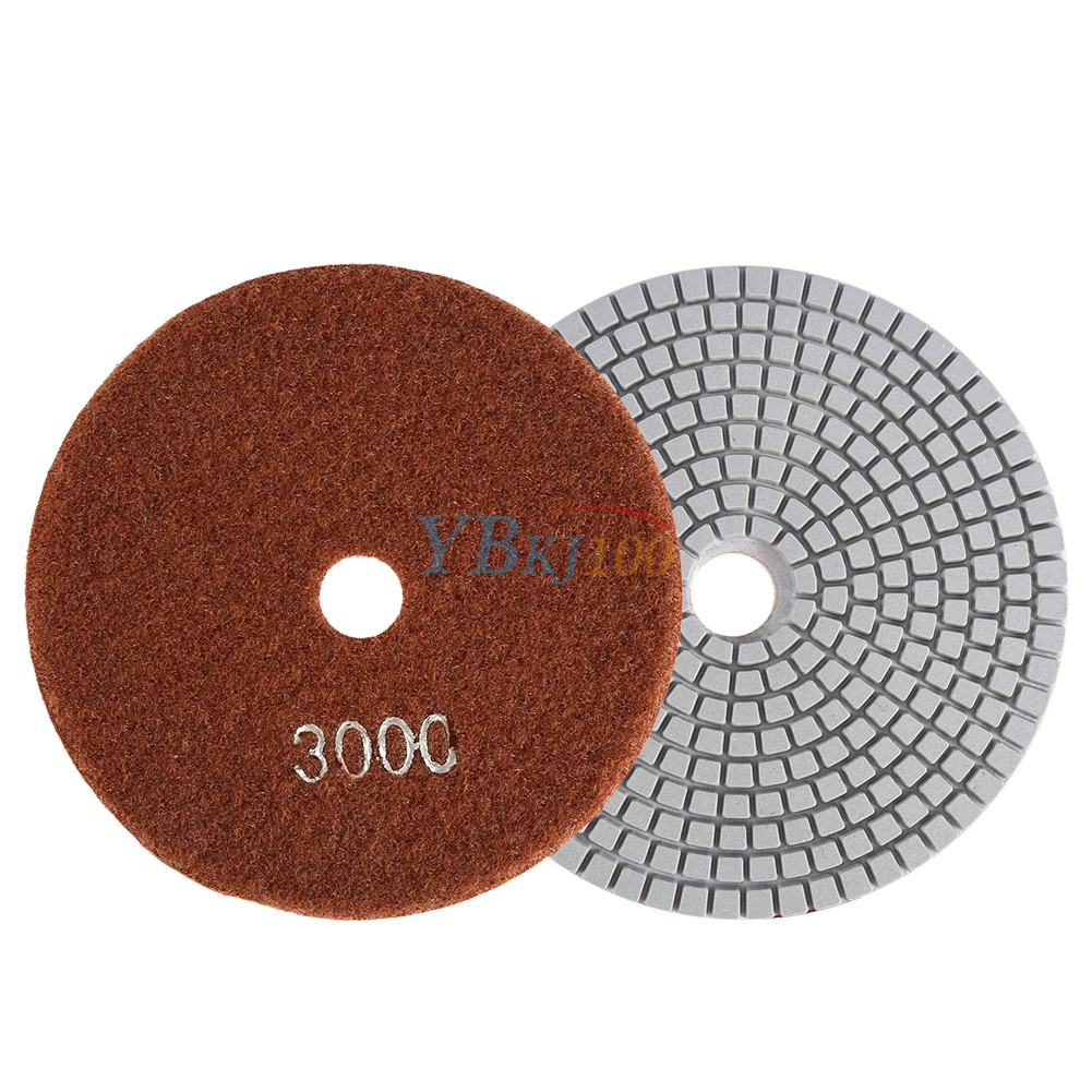 5 Inch Wet Dry Diamond Polishing Pads Sanding Disc Marble